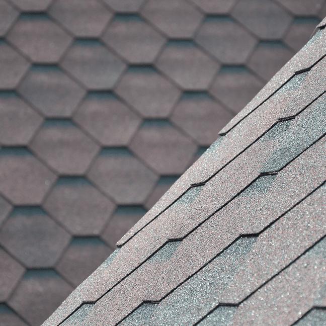 Bitumenes zsindely, polikarbonát és bitumenes hullámlemez